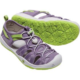 Keen Moxie Sandalias Niños, Purple Sage/Greenery